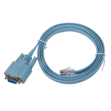 1.8 meters DB9 RS232 Ethernet RJ45 connector adapter cable(China)