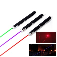 High Quality 5mW 532nm Green Purple Red Laser Pen Positioning Guide Laser Pointer Hunting Lazer Beam Dot For Guidance Tease Pet(China)