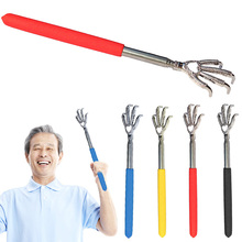 New Convenient Adjustable Eagle Claw Telescopic Ultimate Stainless Steel Massager Back Scratcher From 22 to 59cm HB88