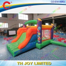 3.5x2m(12x6.6ft) inflatable bounce castle/small jumping castle/air jumping house for kids(China)