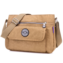 Buy JINQIAOER Brand New Women Messenger Nylon Shoulder Bags Bolsa Feminina Crossbody Women bag Bolsos Muje bolsa feminina for $11.86 in AliExpress store