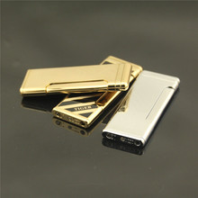 Tiger  lateral pressure thin boutique lighters, new creative products lighter, gift lighters, cigarette lighter