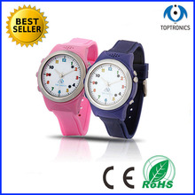 Pink color gps kid smart watch phone best christmas gift for girl compatible IOS and Android phones(China)