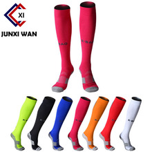 Men Superstar Socks Professional Cycling Socks Sport Protect Knee Long Stockings Brand Basketball Football Socks Soccer Socks