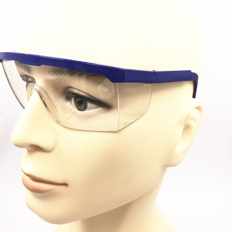 5 Pcs Free Shipping PC goggles Glasses Labour Protection Eye Protection Dustproof Sprayproof Glasses Safety