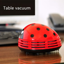 Household Cleaning Tools Accessories Mini Ladybug Desktop Coffee Table Vacuum Cleaner Dust Collector for Home Office