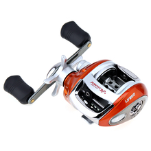 Yumoshi Wholesale Fishing Baitcasting Reel 12+1BB 6.3:1 Gear Ratio Stainless Steel with Magnetic Brake Right Left Hand Optional(China)