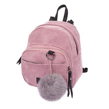 Mini Women Backpacks Solid Fashion School Bag For Teenage Girls High Quality Vintage Small Backpack Candy Color Travel Bags