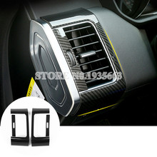 For Land Rover Range Rover Sport Carbon Fiber Style Side Air Vent Cover 2014-2017(China)
