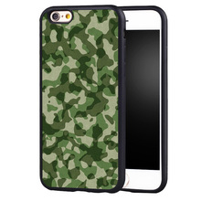 Army Camo Camouflage case cover For Samsung s6 S7 S6edge S8 S8plus s4 s5 note 2 3 4 5