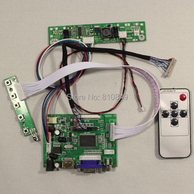 HDMI+VGA+2AV Controller board work for 15inch G150XG01 V2 1024*768 Lcd panel<br>