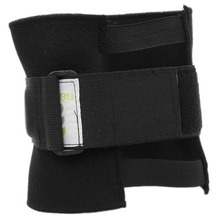 Black New Pressue Point Knee Leg Brace Back Pain Acupressure Sciatic Nerve Pads Sciatic Nerve Health Care H7JP(China)