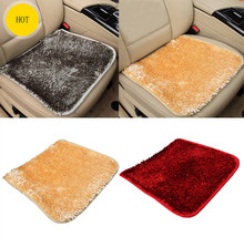 1PC Car Interior Winter Warm Plush Anti Slip Styling Car Seat Cushion Seat Cover Pad Mat Chair Accessories Wholesale