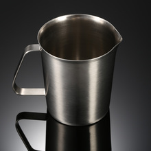 1500ML Stainless Steel Milk Pitcher Multifunctional Cup Jug Milk Foam Container Measuring Cup Fine Coffee Tool Kitchen Gadgets