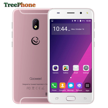 Original Gooweel S7 Smartphone Face Unlock MTK6580 Quad Core 5.0 Inch IPS 3G Mobile Phone unlocked 5MP Camera GPS Cell Phone(China)