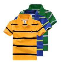 High Quality All-Match Unisex Boys T Shirt Striped Tops Tee Kids Tops Designer Toddler Baby Girls T Shirt Cotton Short Sleeve Ch(China)
