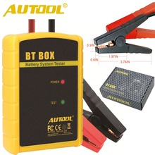 Car Battery System Tester AUTOOL BT BOX Support Android/ISO Powerful Function Automotive Battery Analyzer Car Diagnostic Tool