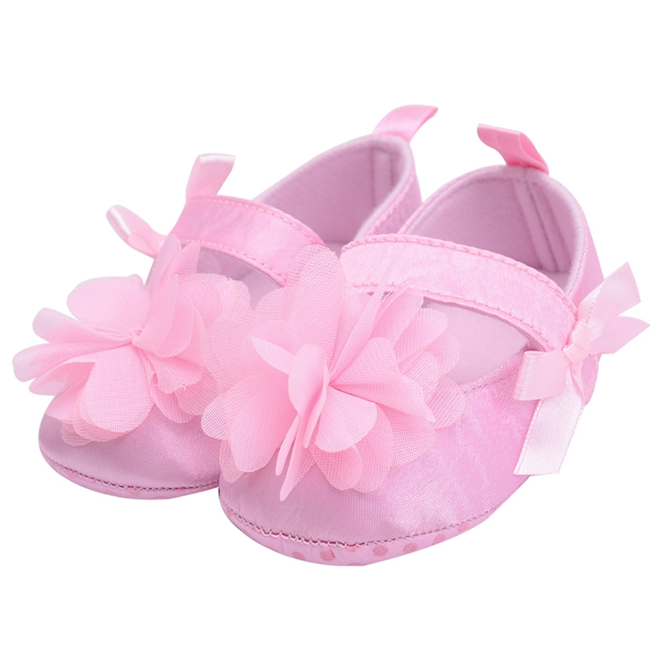 Flower Spring / Autumn Infant Baby Shoes Moccasins Newborn Girls Booties for Newborn 3 Color Available 0-18 Months 7