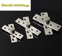 4PCS/Lot Stainless steel Pivot Hinge Knife Hinges Ball Top Bottom(China)