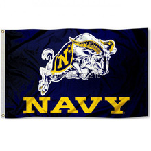 US Navy Logo College Large Outdoor Flag 3ft x 5ft Football Hockey College USA Flag