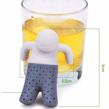 3pcs Dinnerware Tea tool Interesting Life Partner Cute Mr Teapot Tea Filter Baskets Infuser/ Strainer/Coffee & Tea Sets/silicone