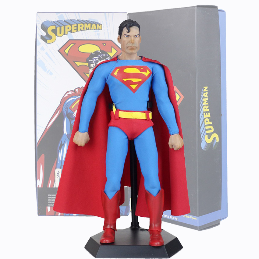 Crazy Toys Superman Figure DC Comics Justice League America Anime Superman Super Hero Action Figures 30cm<br>