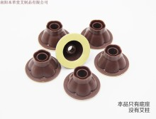 1000PCS Manufacturers wholesale aa post shaped transparent base base moxibustion moxibustion base with aprons