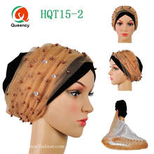Perfect design!!African turban gele with more beads African headtie high quality headwrap african scarf african wrapper gele.