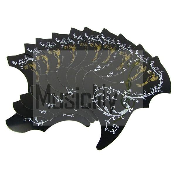 Bulk Sale 10Pcs Acoustic Guitar Hummingbird PVC Self Adhesive Pickguard Scratch Plate<br><br>Aliexpress