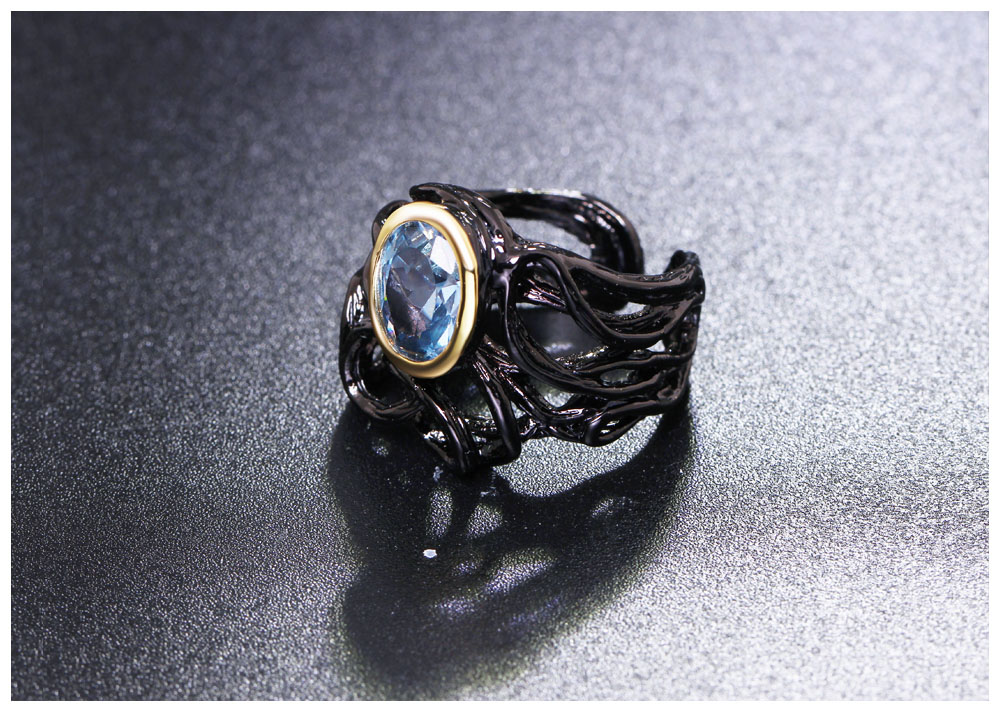 black color rings 05