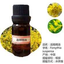 Pure herbs forsythia unilateral oil 10ml purify clean relieve pain and promote physical cold sweat