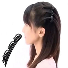 New 2015 Creative Practical Women Double Hair Pin Clips Barrette Comb Hairpin Hair Disk
