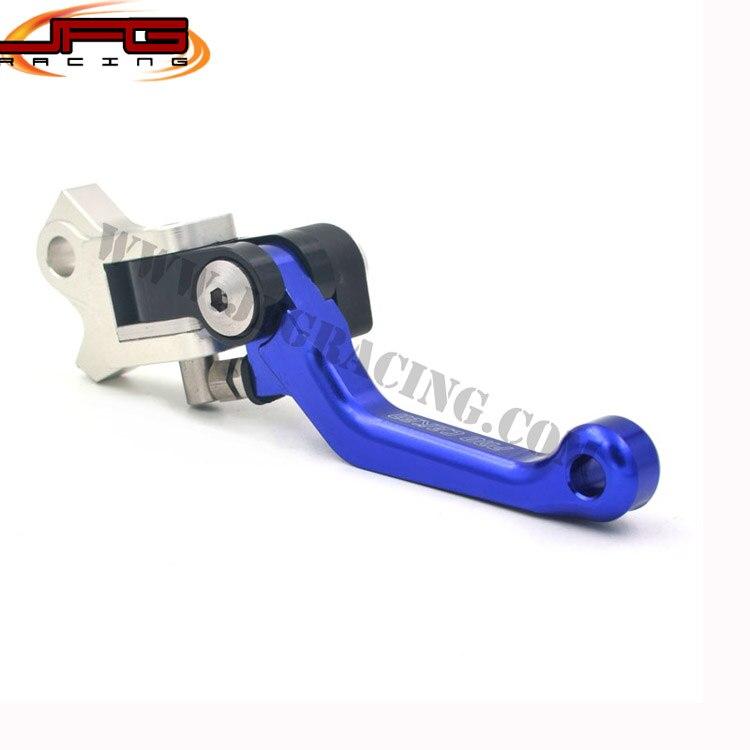 4 Directions Foldable Aluminum Billet Pivot Brake Lever For YZ125 YZ250 YZ250F YZ450F YZ426F  Motocross Enduro  Dirt Bike BLUE<br><br>Aliexpress