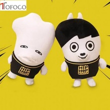Tofoco KPOP Korean Fashion BTS Bangtan Boys Plush Doll Cute Cartoon Toy Boyfriend Plush Toy Metting Friends Gift