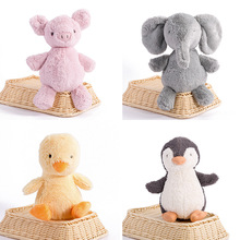 5styles New Baby Series animals plush Toys Baby Appease Stripe stuffed Doll Birthday Gift Pocket Edition Doll