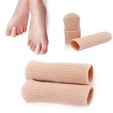 1 Pcs New Durable Gel Cap Finger Toe Blister Callouses Relief Tube Protector Small Foot Care Health Toe health(China)