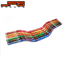 Buy 1 1/8 FAT BARS 28MM HANDLEBARS HANDLE TUBES FOR KTM CRF250 450 RMZ YZF RMZ DIRT BIKE MOTOCROSS MOTORCYCLE -RED for $30.59 in AliExpress store