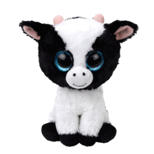 "Pyoopeo Ty Beanie Boos 6"" 15cm Butter the Cow Plush Stuffed Animal Cattle Collectible Soft Big Eyes Doll Toy(China)"