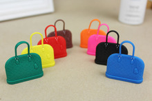 5 pcs lot -wholesale phone accessories luxury bags hand bags anti jack dust plug ear cap for ipone& Ipad & Samsung& HTC