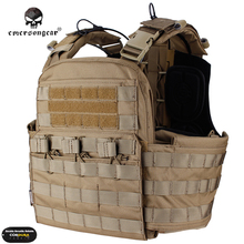 Emersongear CP Style CPC Tactical Vest Cage Plate Carrier Molle Hunting Cherry Plate Carrier Combat Gear EM7400 Black Multicam