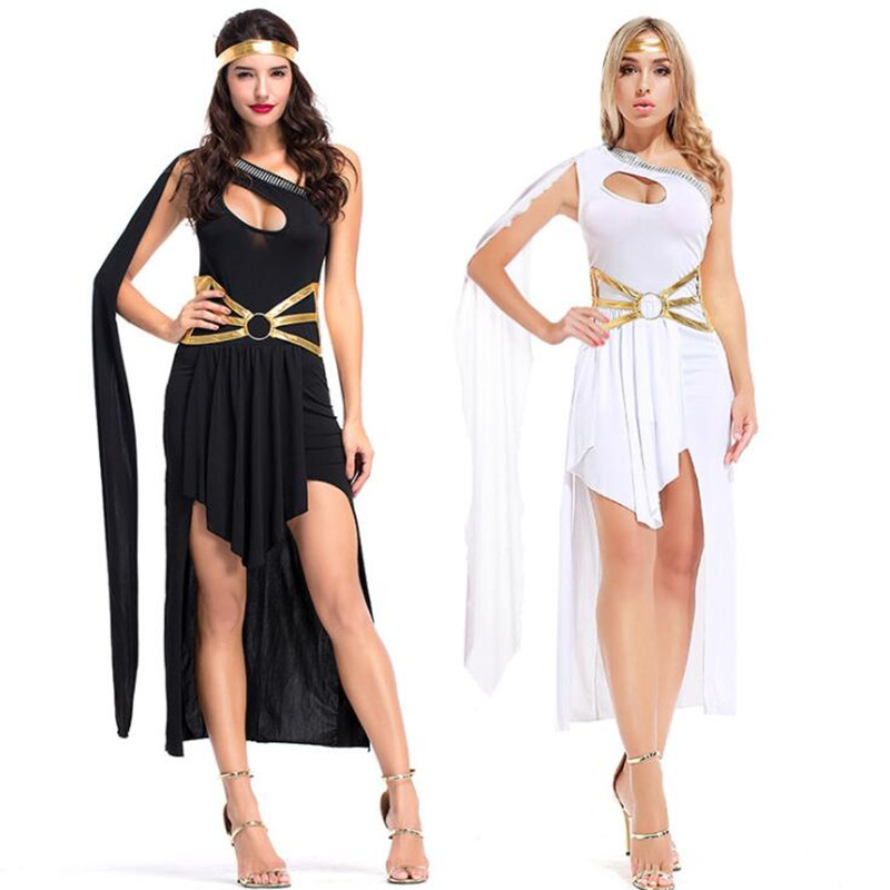 Women Lady Sexy Greece Goddess  Female Arab Princess Cosplay Costumes  Carnival Party    Costume      Christmas Halloween