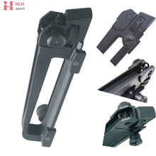 Dual Aperture Picatinny Rail mount + Adjustment A2 Iron Rear Sight Detachable Combo for Airsoft AR-15 M4 M16 Hunting Gun