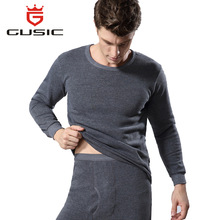 Winter Men Long Johns Thicken Mens Thermal Underwear Sets Plus Velvet Warm Long John O-Neck Thermal Undershirts Trousers