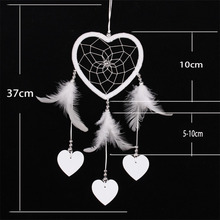 2016 NEW Handmade Dream Catcher Circular Net With feather Hanging Decoration Decor Ornament Gift