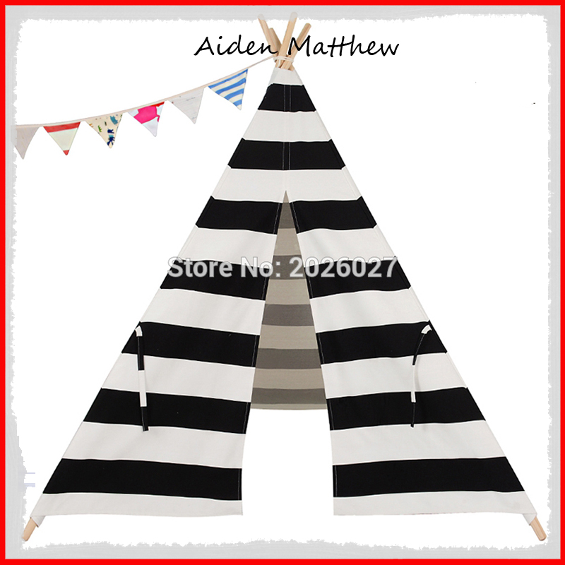 Hot Sale Eco Friendly Kids Teepees Kids Play Tents Polyester Cotton<br><br>Aliexpress