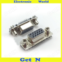 500pcs Top Eight After Seven 845 VGA Connector VGA Male Plug/Pin Block For Ultra-thin Notebook(China)