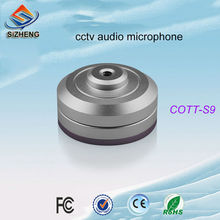 SIZHENG cctv mini microphone audio listening devices sound monitor pick up for security camera DVR