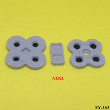 YX-165  2set conducting button rubber silicone dpad pad RL LR L R left right keypad for NDSL/DSL/Nintendo DS Lite game repair