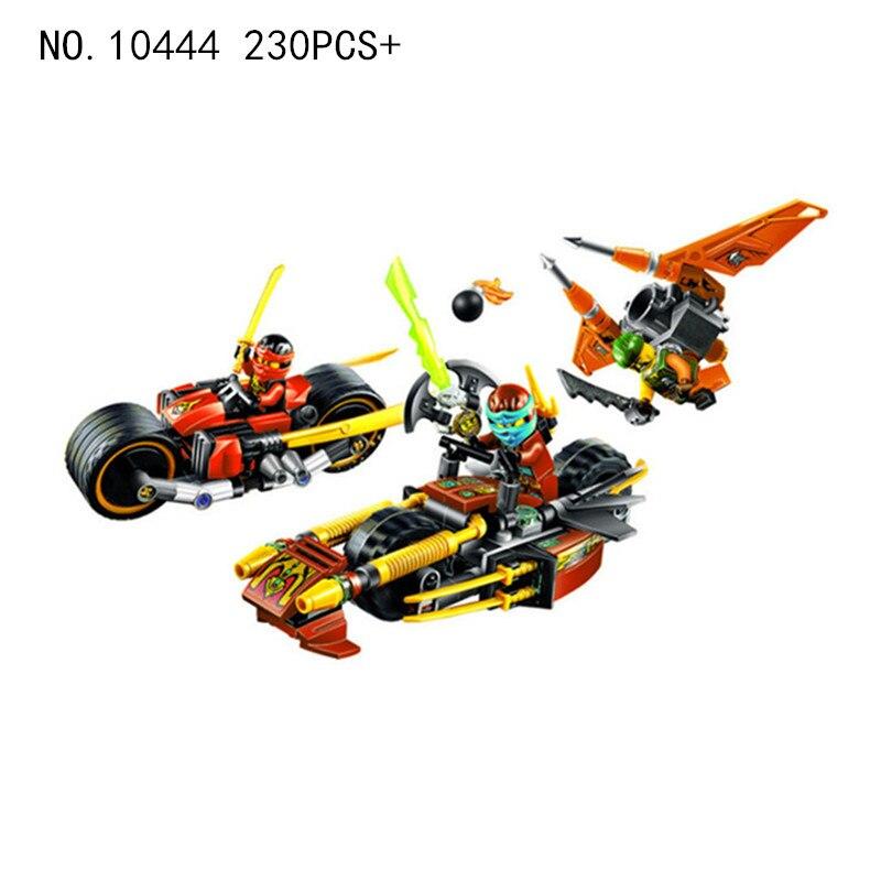Bela-LEGOINGS-Ninjago-Ninja-Bike-Chase-