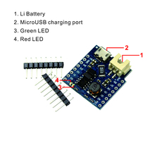 Smart Electronics For D1 mini single lithium battery charging & boost For Battery Shield V1.1.0